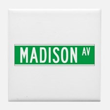 Madison Ave., New York - USA Tile Coaster