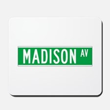 Madison Ave., New York - USA Mousepad