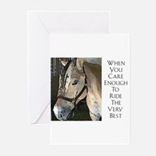 Cute Ride mare Greeting Cards (Pk of 10)