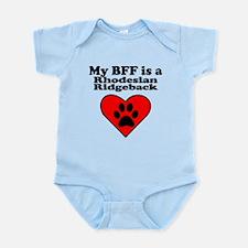 My BFF Is A Rhodesian Ridgeback Body Suit
