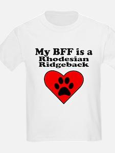 My BFF Is A Rhodesian Ridgeback T-Shirt