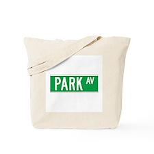 Park Ave., New York - USA Tote Bag