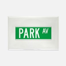 Park Ave., New York - USA Rectangle Magnet