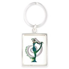 Our Lady of Tea Portrait Keychain