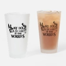 Least of Your Worries Drinking Glass