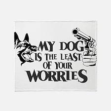 Least of Your Worries Throw Blanket
