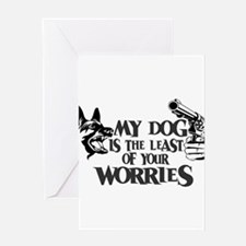 Least of Your Worries Greeting Card