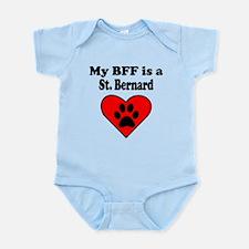 My BFF Is A St. Bernard Body Suit