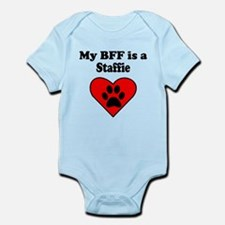 My BFF Is A Staffie Body Suit