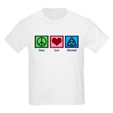 Peace Love Charmed T-Shirt