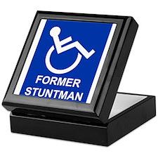 Former Stuntman Keepsake Box