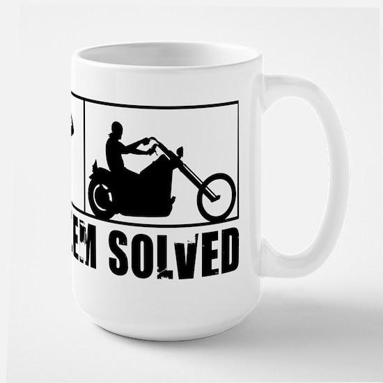 Problem Solved Large Mug