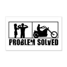 Problem Solved Wall Decal