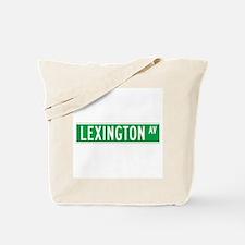 Lexington Ave., New York - USA Tote Bag