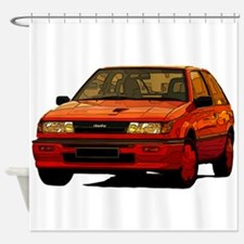 1988 Isuzu Irmscher Turbo Shower Curtain