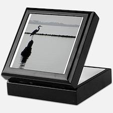 Heron Silhouette Keepsake Box