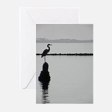 Heron Silhouette Greeting Cards (Pk of 10)