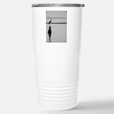 Heron Silhouette Travel Mug