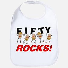 Fifty Rocks Bib