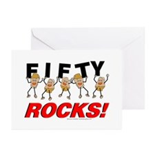 Fifty Rocks Greeting Cards (Pk of 10)