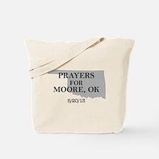Prayers for Moore Oklahoma Tote Bag