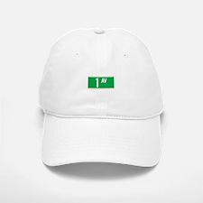 1st Ave., New York - USA Baseball Baseball Cap
