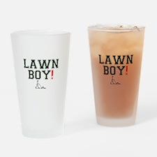 LAWN BOY! Z Drinking Glass