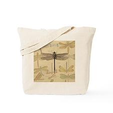 Dragonfly Vintage Tote Bag