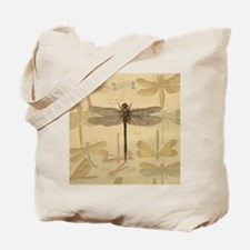 Dragonfly Vintage Tote Bag