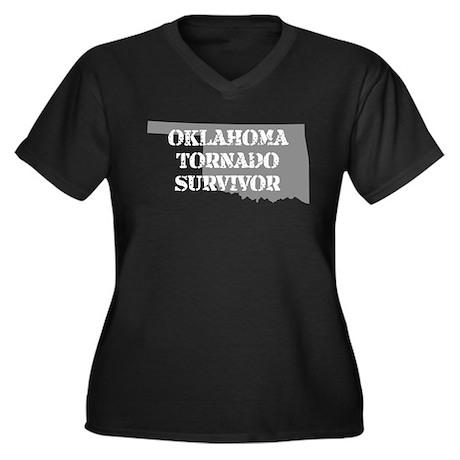 Oklahoma Tornado Survivor Plus Size T-Shirt
