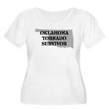 Oklahoma Tornado Survivor Plus Size T-Shirt