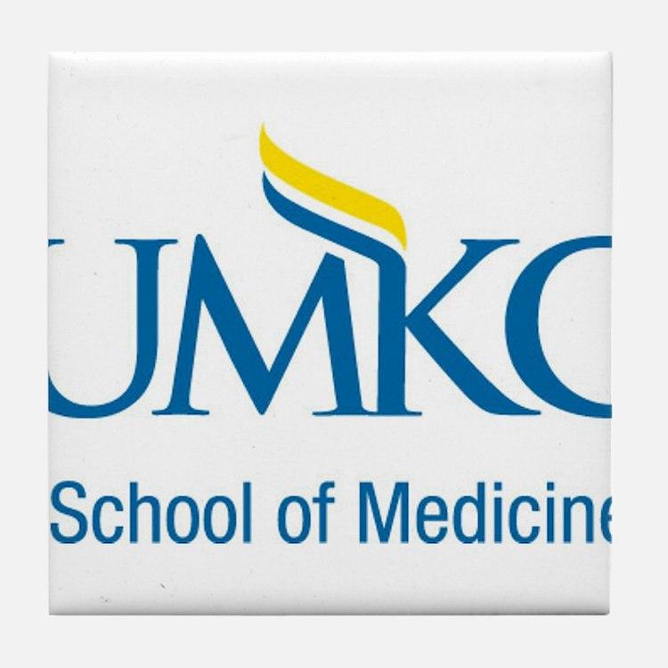 UMKC School of Medicine Apparel Products Tile Coas