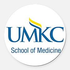 UMKC School of Medicine Apparel Products Round Car