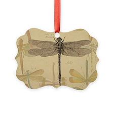 Dragonfly Vintage Ornament