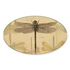 Dragonfly Vintage Decal