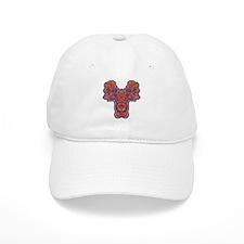 Red Quetzalcoatl Baseball Baseball Cap