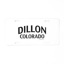 Dillon Colorado Aluminum License Plate