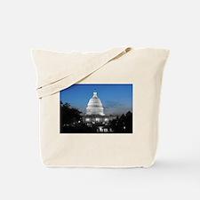 Capitol Hill Blue Tote Bag