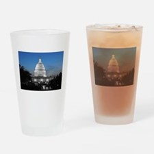 Capitol Hill Blue Drinking Glass