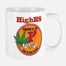 "HighHS 'I blame the yearbook"" Design Mug"