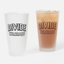 Divide Colorado Drinking Glass