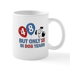 48 year old birthday design Mug