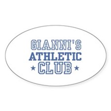 Gianni Oval Decal