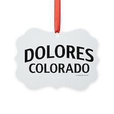 Dolores Colorado Ornament