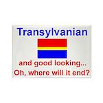 Good Looking Transylvanian Rectangle Magnet
