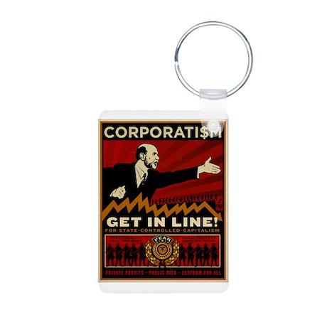 Corporatism Keychains