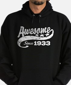 Awesome Since 1933 Hoodie