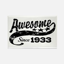 Awesome Since 1933 Rectangle Magnet