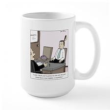 Brain Interview Mugs
