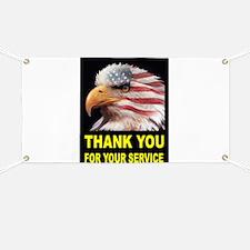 MILITARY THANKS Banner